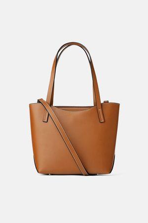 Zara Bolso mini shopper rígido
