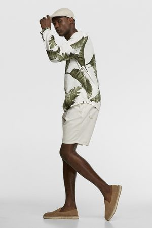 Zara Camisa estampado tropical