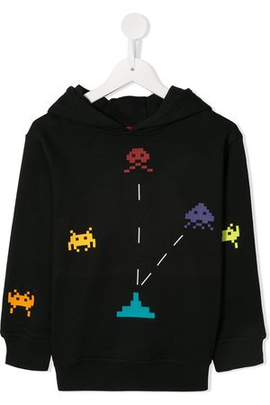 MOSTLY HEARD RARELY SEEN Invader printed hoodie