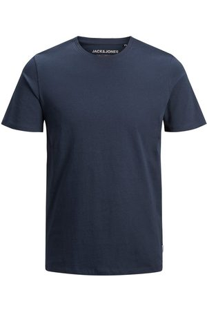 Jack & Jones Organic Cotton T-shirt Men Blue
