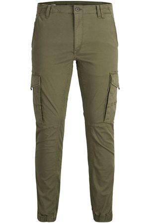 Jack & Jones Paul Flake Akm 542 Cargo Pants Men Green