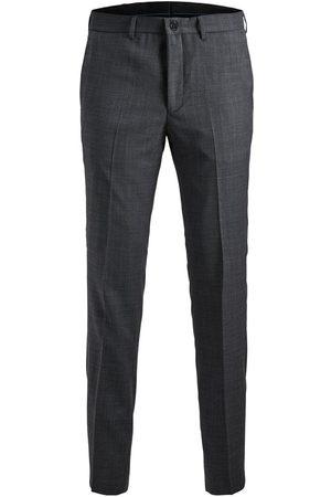 Jack & Jones Slim Fit Suit Trousers Men Grey