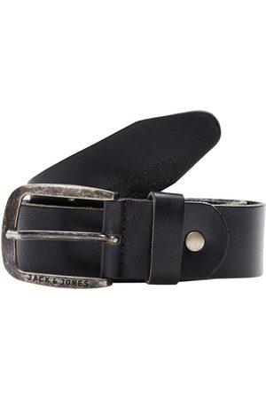 Jack & Jones Leather Belt Men Black