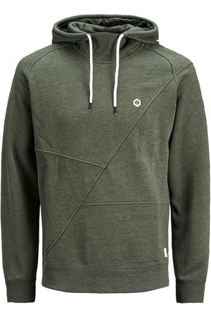 Jack & Jones Detailed Hoodie Sweatshirt Men Green