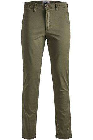 Jack & Jones Marco Bowie Sa Olive Night Slim Fit Chinos Men Green
