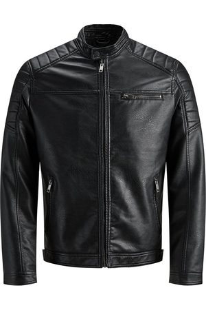 Jack & Jones Faux Suede Light Jacket Men Black