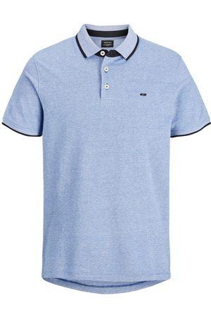 JACK & JONES Classic Polo Shirt Men Blue