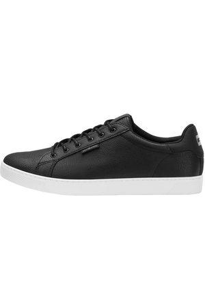Jack & Jones Faux Leather Sneakers Men Black