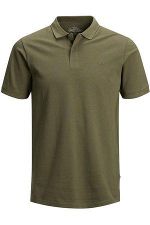 JACK & JONES Classic Polo Shirt Men Green