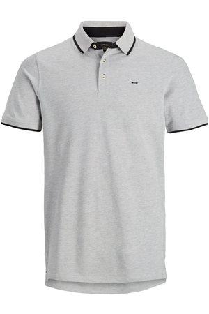 JACK & JONES Classic Polo Shirt Men Grey