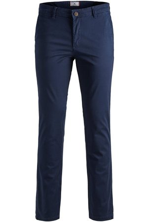 Jack & Jones Hombre Pantalones y Leggings - Marco Bowie Sa Navy Blazer Slim Fit Chinos Men Blue