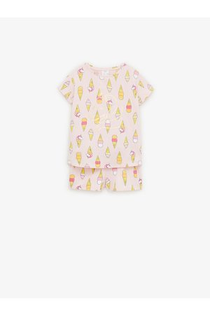Zara Niña Pijamas - Pijama helados y unicornio