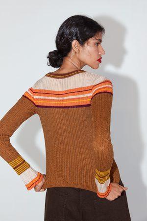 Zara Mujer Jerséis y suéteres - Jersey punto brillos
