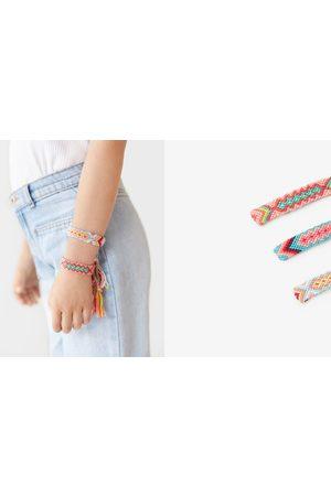 Zara Pulseras - Pack tres pulseras hilo trenzado