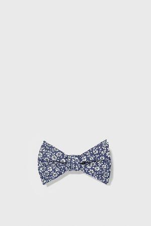 Zara Hombre Pajaritas - Pajarita lino estampado floral