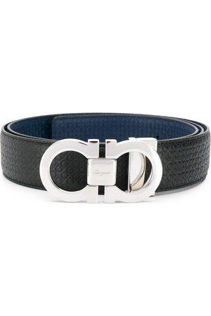 Salvatore Ferragamo Cinturón con hebilla Gancini reversible y ajustable