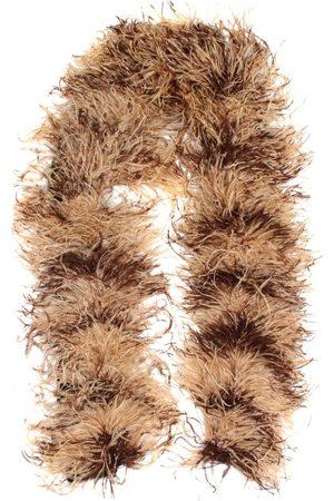 Miu Miu Bufandas y Pañuelos - Bufanda de plumas, mohair y lana