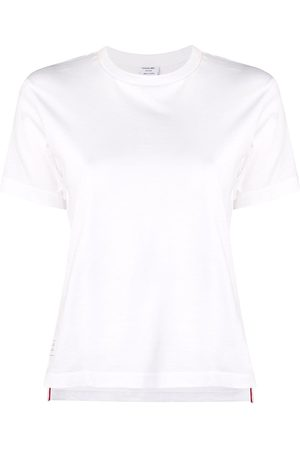 Thom Browne Mujer Manga corta - Camiseta holgada con manga corta
