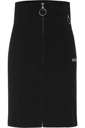 OFF-WHITE Falda de cintura alta