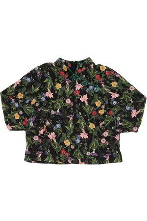 VIVETTA | Niña Vestido Camisa De Franela De Viscosa Estampado 8a