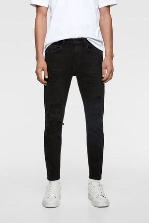 Zara Hombre Pitillos - Jeans skinny bajo rotos