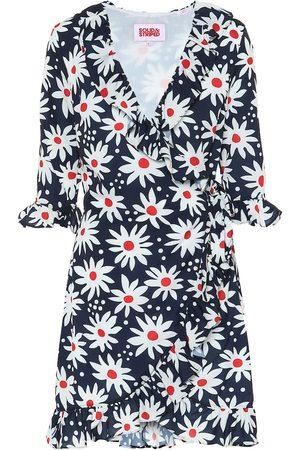 Solid Exclusivo en Mytheresa - vestido wrap floral