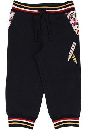 Dolce & Gabbana | Niña Pantalones Deportivos De Algodón Con Estampado 8a