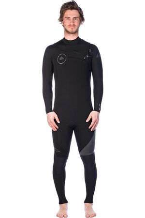 Quiksilver 3/2 Syncro Series Chest Zip negro