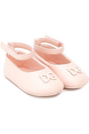 Dolce & Gabbana Niña Bailarinas - Bailarinas con correa en el tobillo