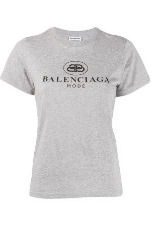 Balenciaga Camiseta ajustada de manga corta