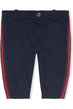 Gucci Pantalones con rayas laterales
