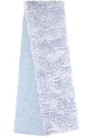 Miu Miu Bufanda de mohair, algodón y lana