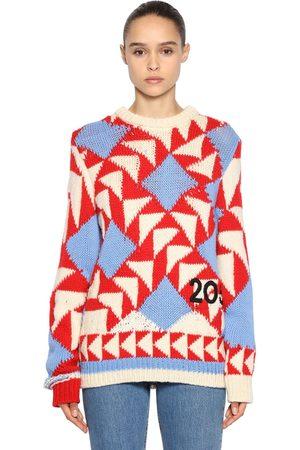 Calvin Klein Suéter De Lana Con Intarsia