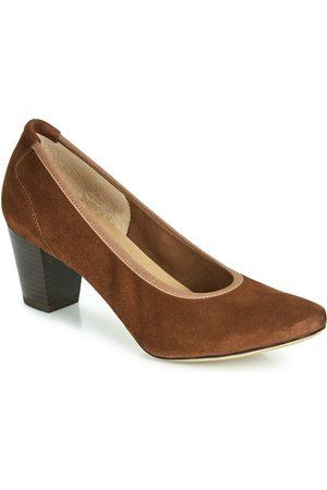 Perlato Mujer Tacón - Zapatos de tacón 10362-CAM-COGNAC para mujer