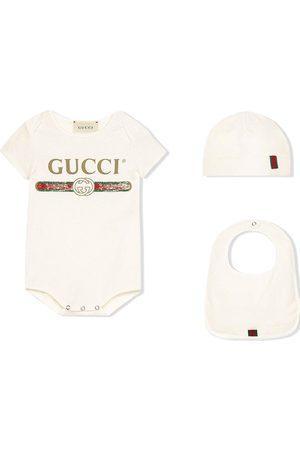 Gucci Set de body con logo estampado