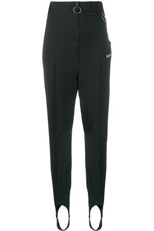OFF-WHITE Pantalones slim con cremallera