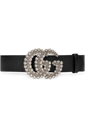 Gucci Mujer Cinturones - Cinturón con GG de cristales