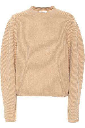 Chloé Jersey de lana y cachemir acanalado