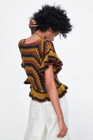 Zara Top crochet edición limitada