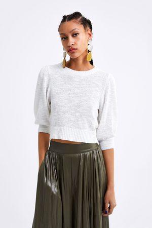 Zara Mujer Crop tops - Top cropped punto