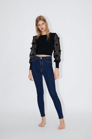 Zara Mujer Jeggings - Jegging hi rise super elastic
