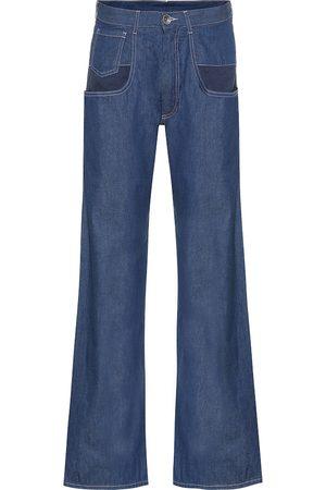 Maison Margiela Jeans anchos de tiro medio