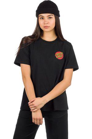 Santa Cruz Classic Dot T-Shirt negro