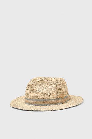 Zara Hombre Sombreros - Sombrero cinta combinada