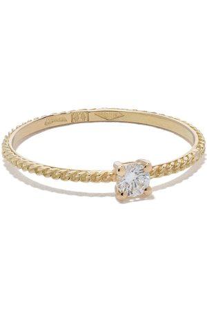 WOUTERS & HENDRIX Mujer Anillos - Anillo Uzerai en oro de 18kt con diamantes