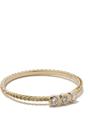 WOUTERS & HENDRIX Anillo en oro amarillo de 18Kt con diamantes