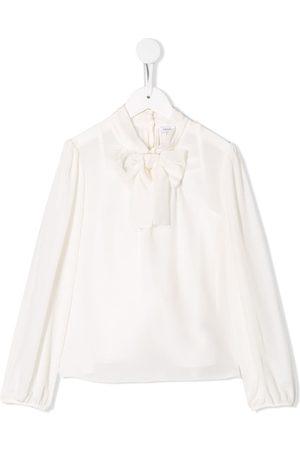 Dolce & Gabbana Blusa con lazo en el cuello