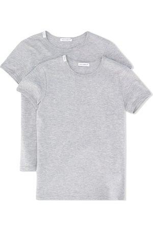 Dolce & Gabbana Set de dos camisetas básicas de manga corta