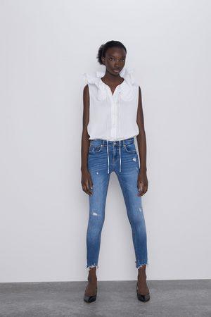 Zara Jeans zw premium skinny cies blue