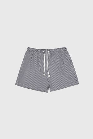 Zara Hombre Shorts de baño - Bañador estructura seersucker